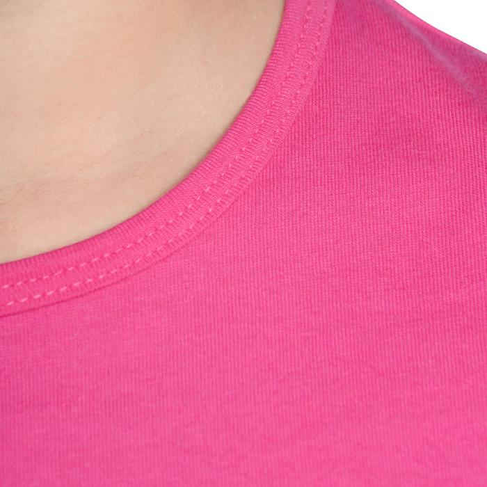 T-Shirt manches courtes Gym fille - 1090879