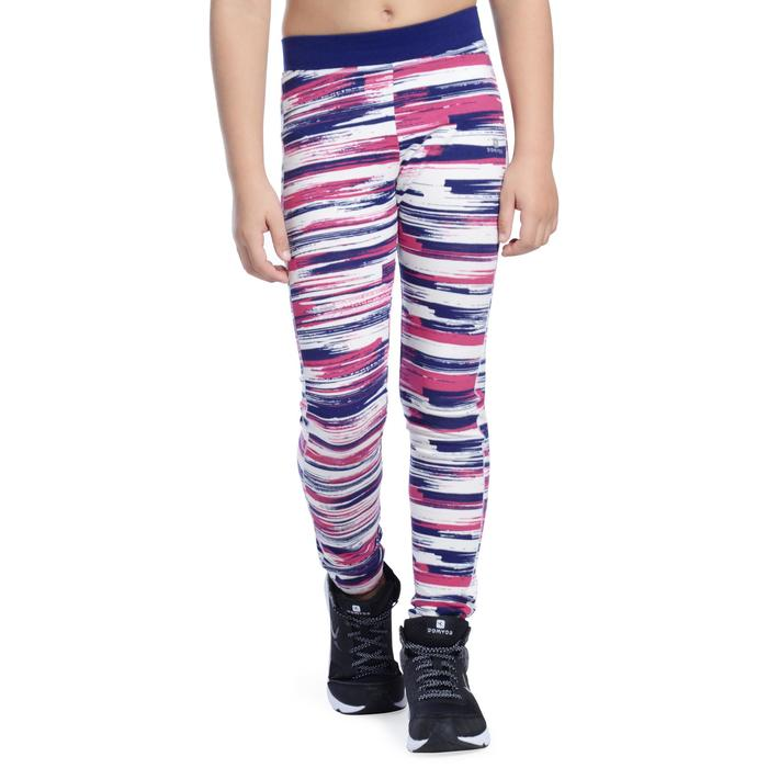 Legging 500 Gym Fille imprimé - 1090885