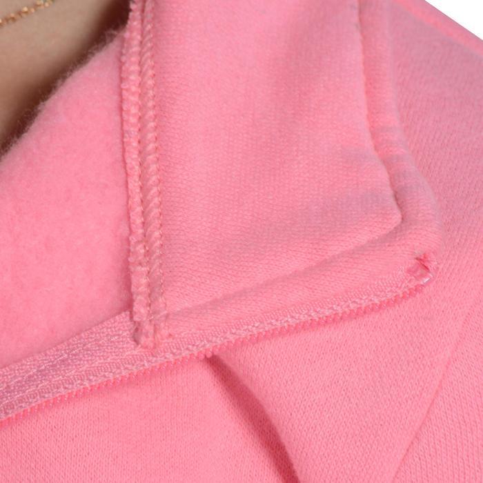 Survêtement chaud zippé imprimé Gym fille Warm'y Zip - 1090914