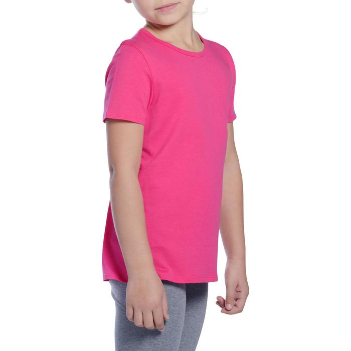 T-Shirt manches courtes 100 Gym fille - 1090933