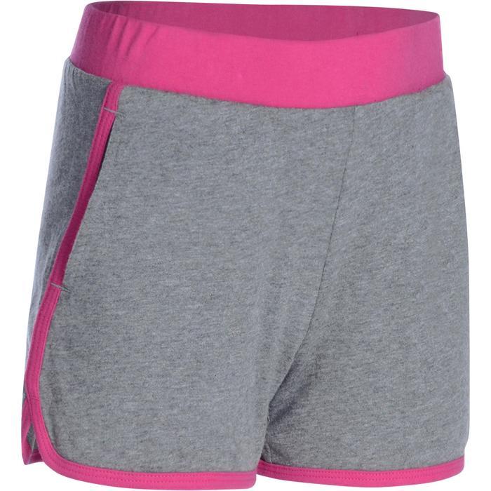 Gymshort voor meisjes roze