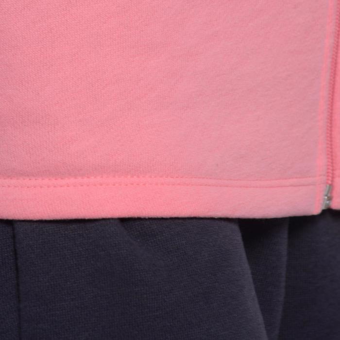Survêtement chaud zippé imprimé Gym fille Warm'y Zip - 1090955