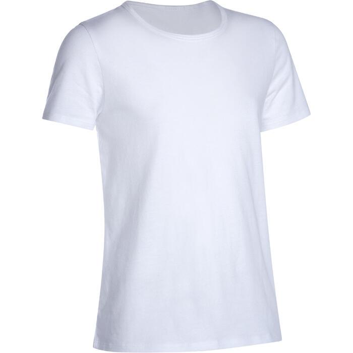 T-Shirt manches courtes 100 Gym fille - 1090991