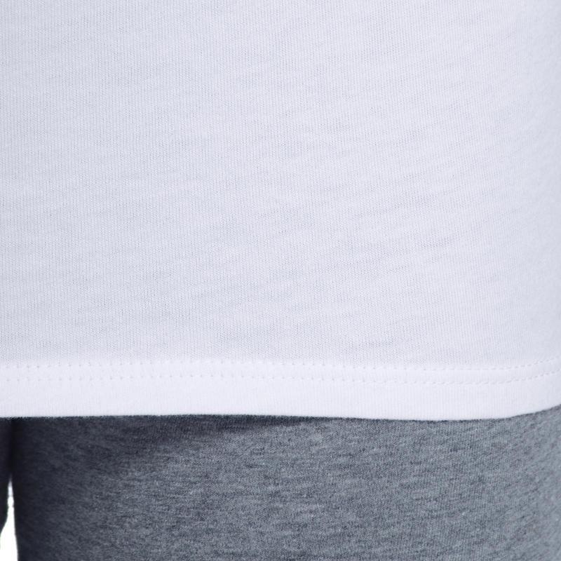 Girls' 100 Short-Sleeved Gym T-Shirt - White