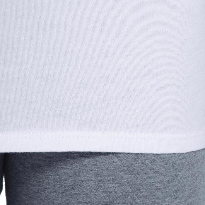 T-Shirt manches courtes 100 Gym fille - 1090998