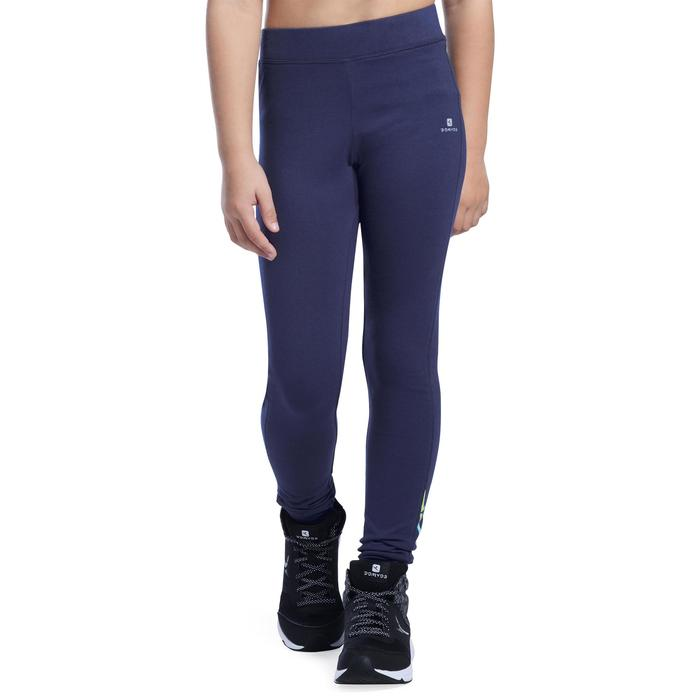 Legging 500 Gym Fille imprimé - 1091004