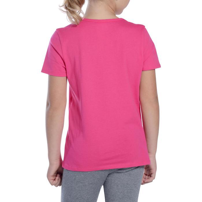T-Shirt manches courtes 100 Gym fille - 1091005