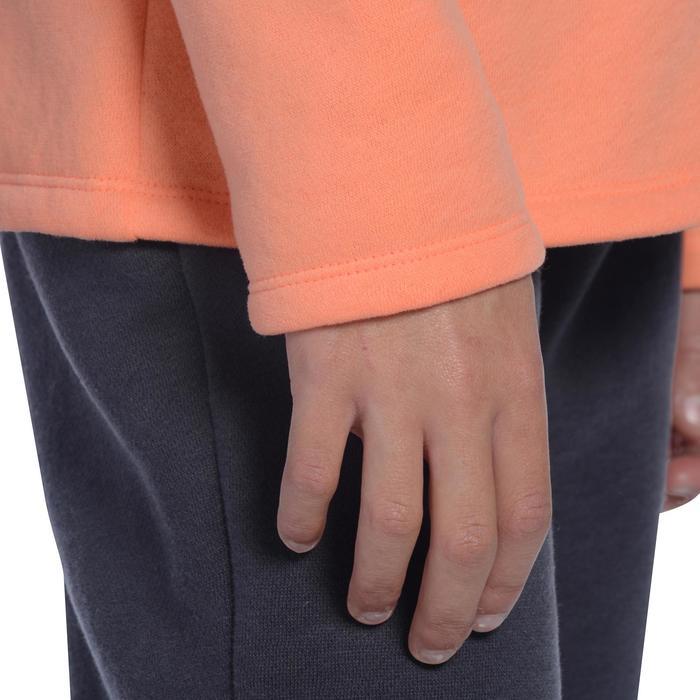 Survêtement chaud zippé imprimé Gym fille Warm'y Zip - 1091007