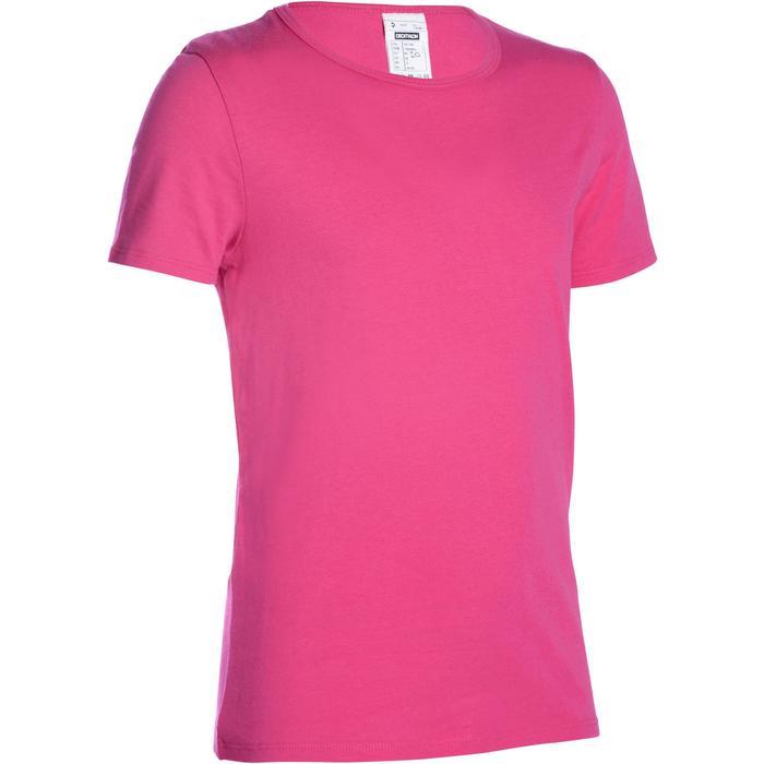 T-Shirt manches courtes 100 Gym fille - 1091030