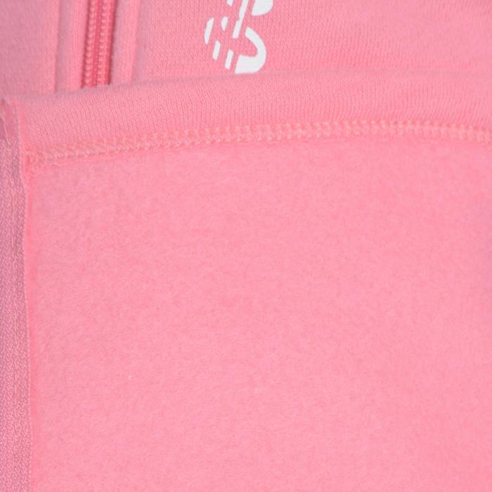 Survêtement chaud zippé imprimé Gym fille Warm'y Zip - 1091041