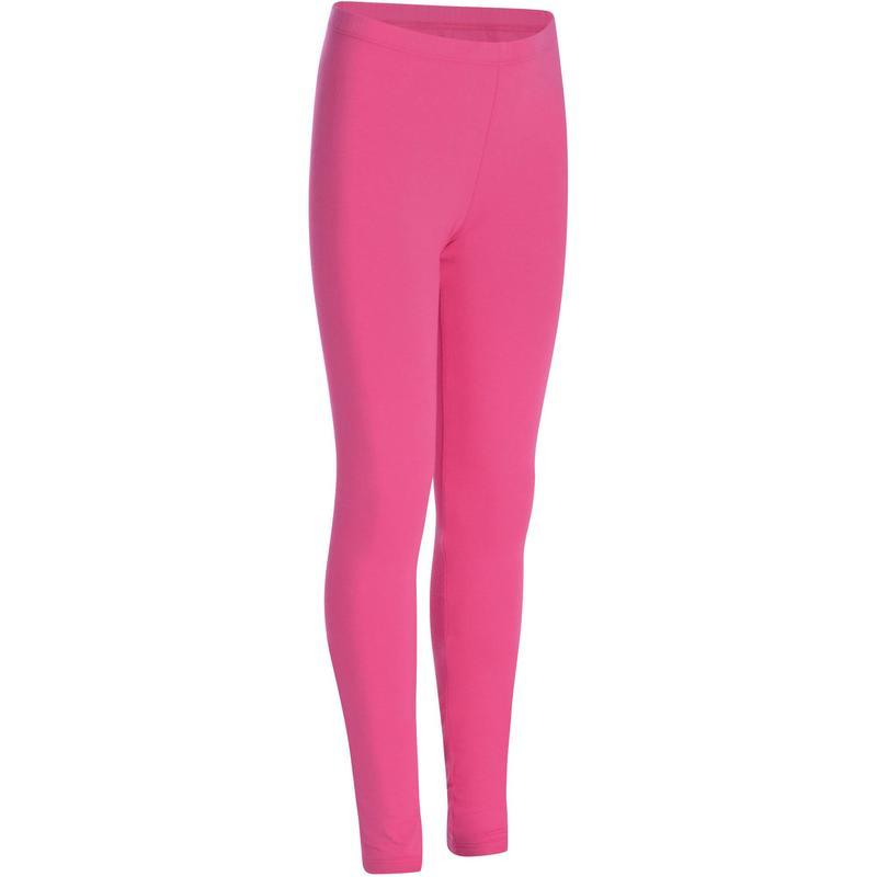 dd60b1af351ed4 Girls' Gym Leggings - Pink | Domyos by Decathlon
