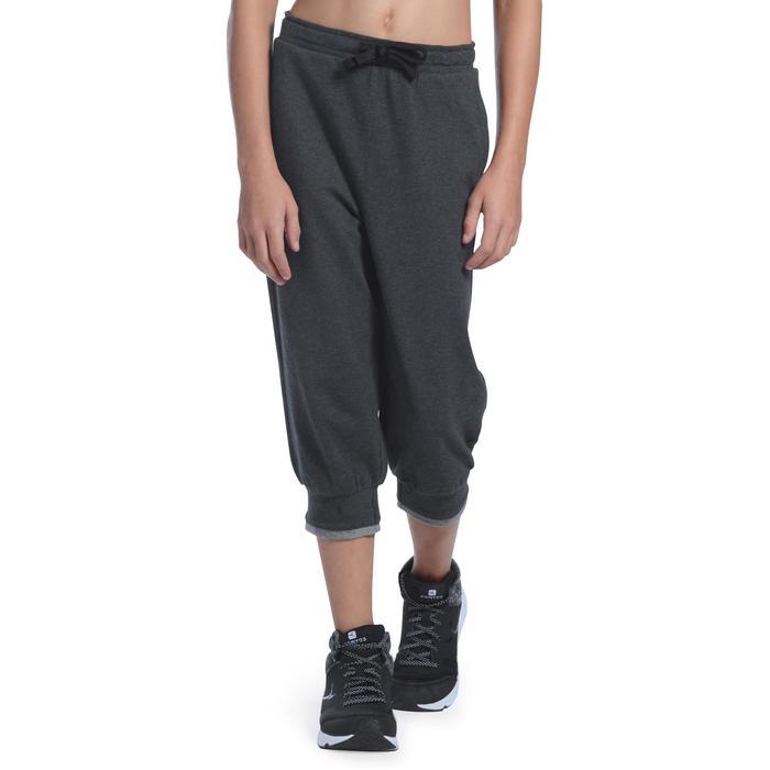 Gym kuitbroek voor meisjes, regular fit - 1091080