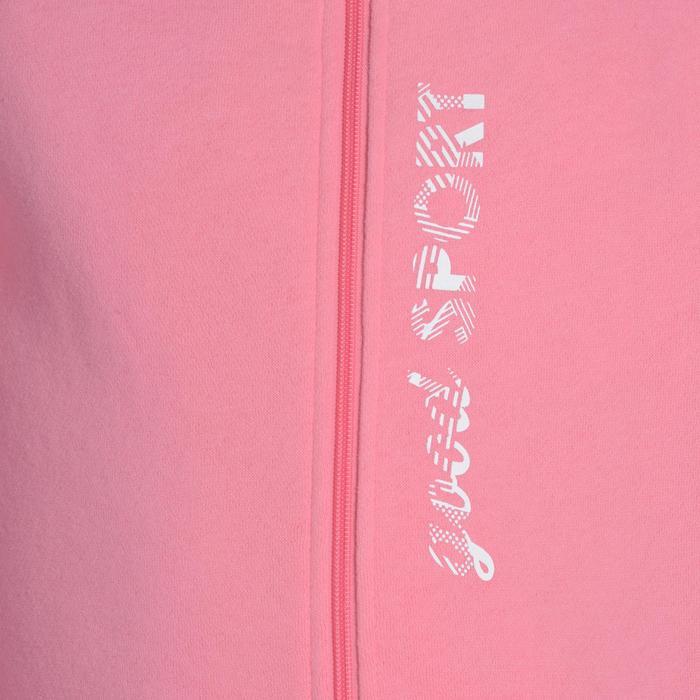Survêtement chaud zippé imprimé Gym fille Warm'y Zip - 1091084