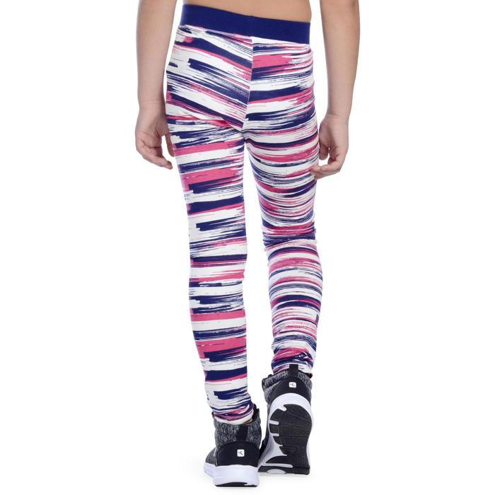 Legging 500 Gym Fille imprimé - 1091087