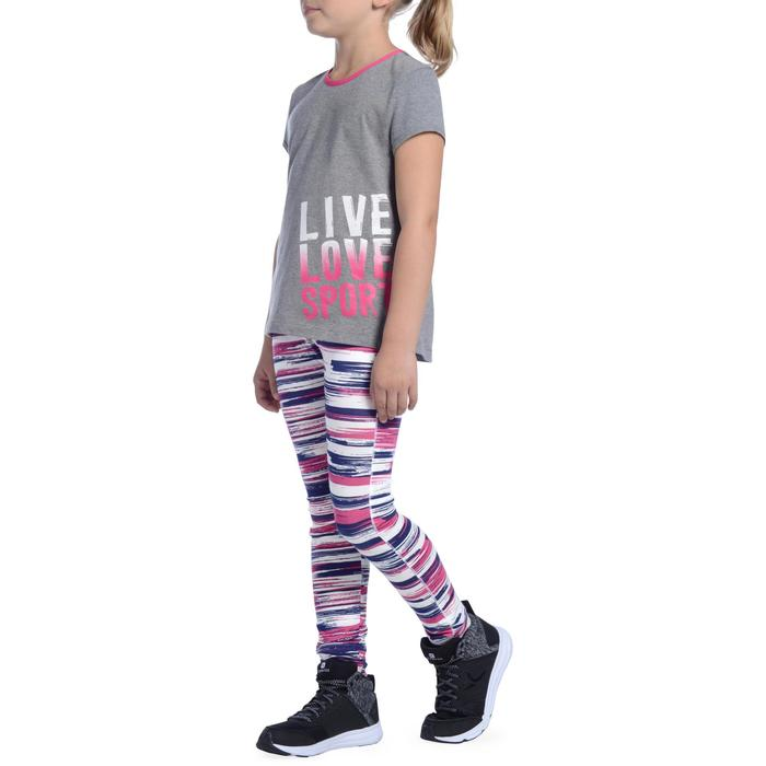 Legging 500 Gym Fille imprimé - 1091098