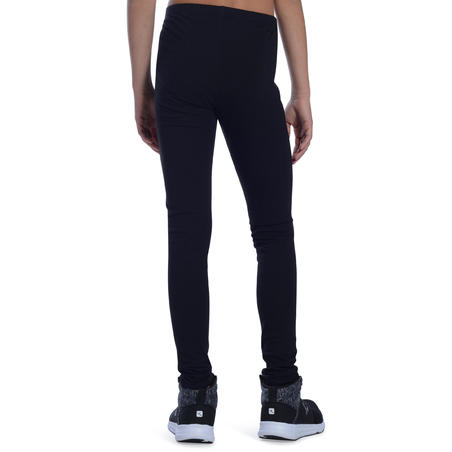 100 Gym Leggings - Black - Girls'