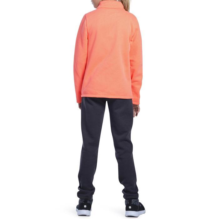Survêtement chaud zippé imprimé Gym fille Warm'y Zip - 1091122