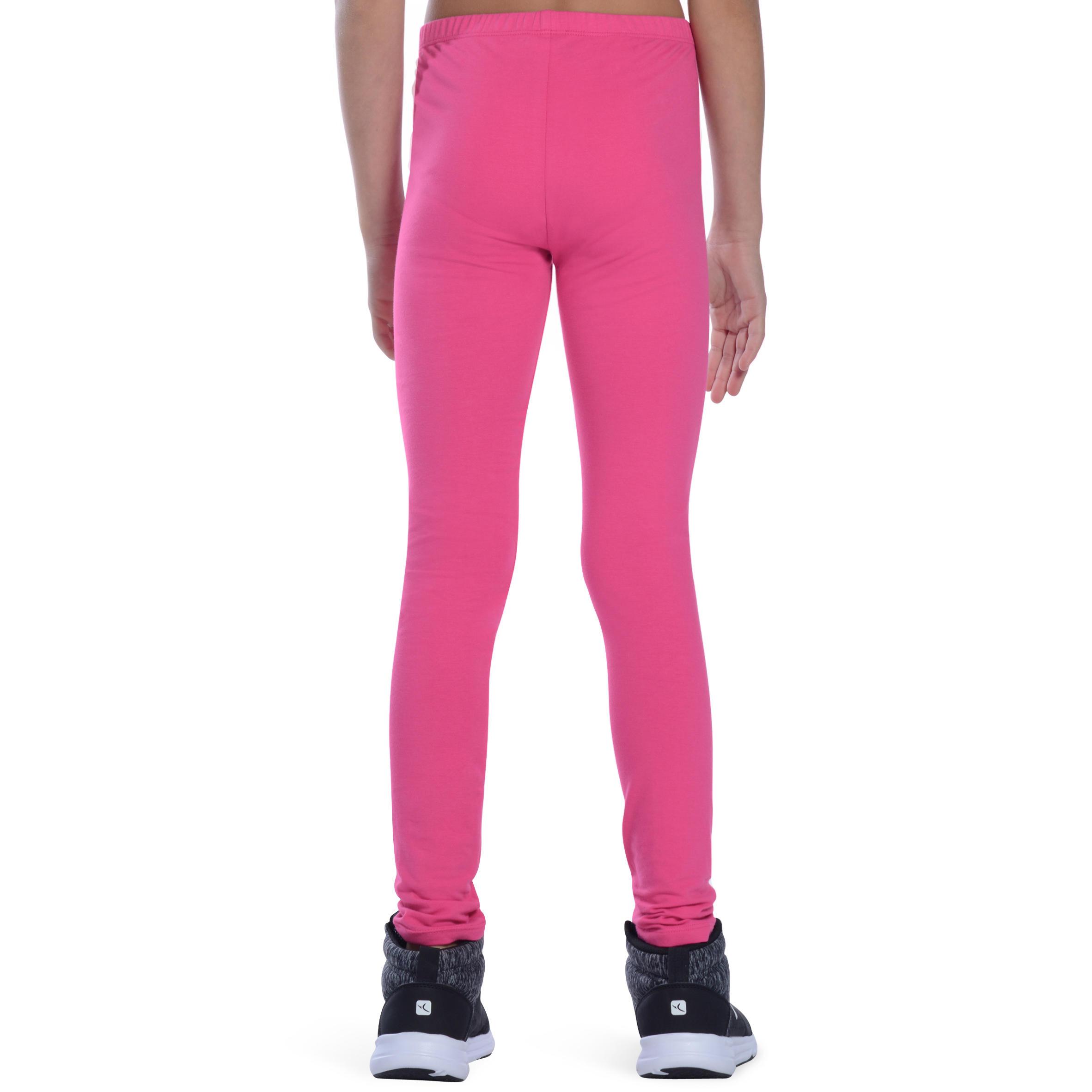Girls' Gym Leggings - Pink
