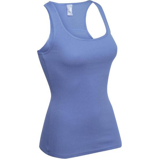 Topje voor gym & pilates dames gemêleerd - 109113