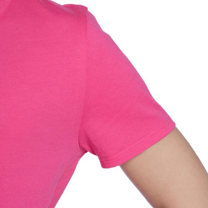 T-Shirt manches courtes 100 Gym fille - 1091145