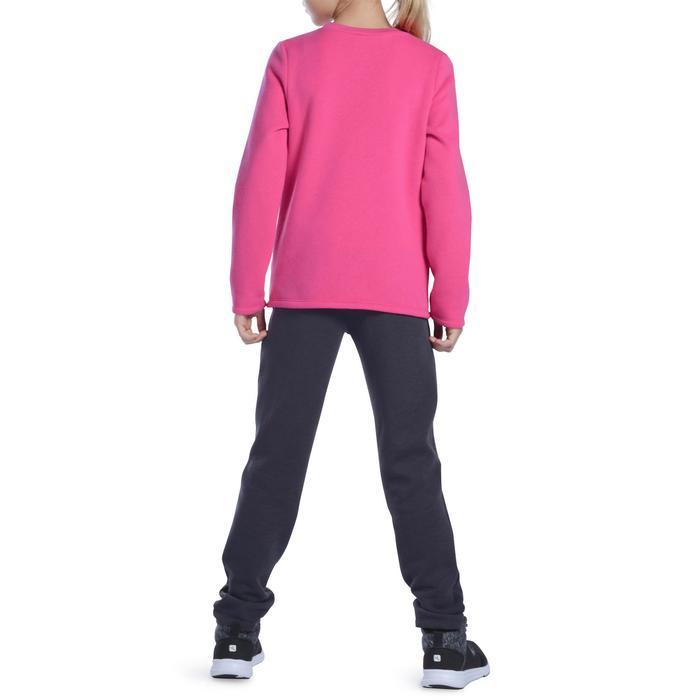 Survêtement 100 Gym fille rose imprimé Warm'y