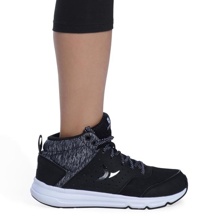 3/4-Hose 100 Gym Kinder schwarz