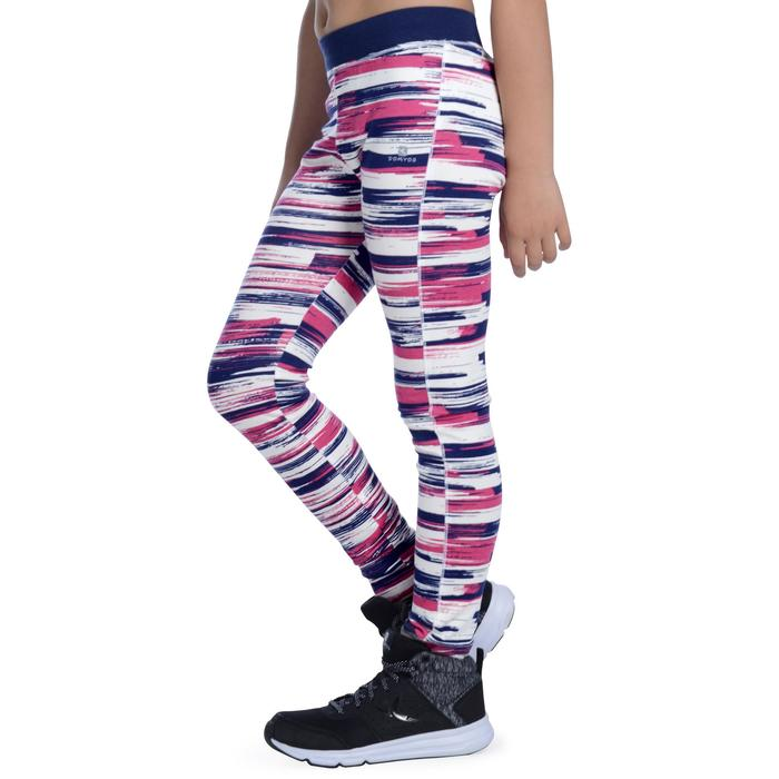 Legging 500 Gym Fille imprimé - 1091184