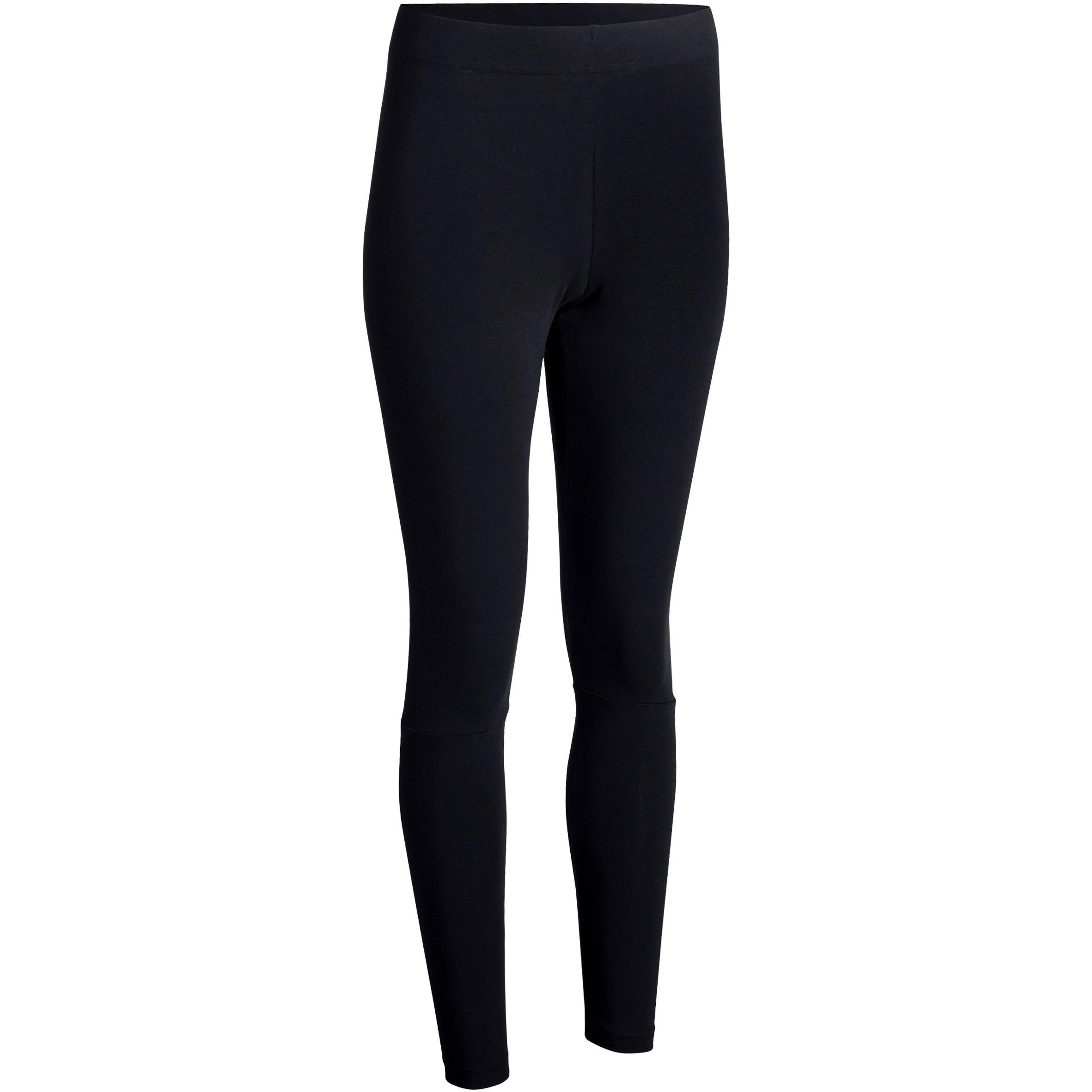 Legging Adidas Gym 500 Noir Femme Slim Stretching lFKc1J