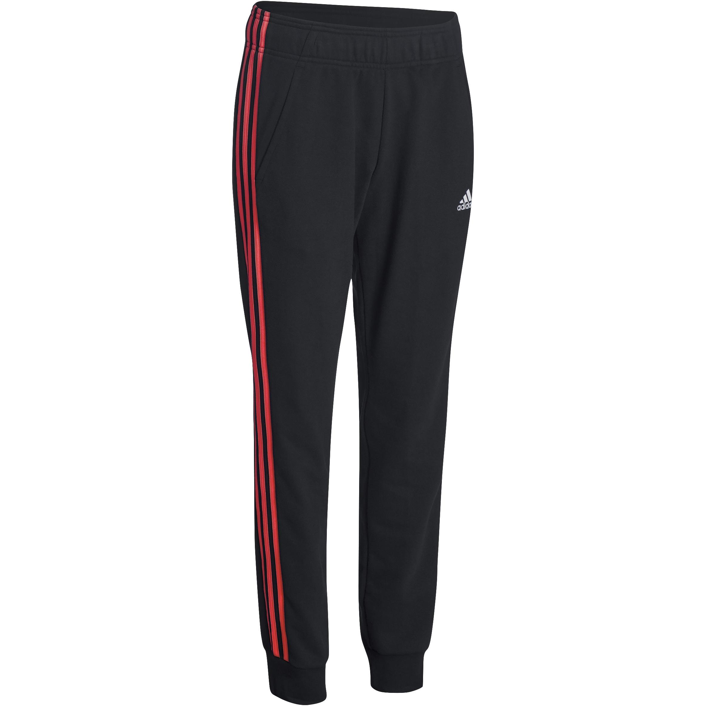 Fitnessbroek Adidas dames zwart-roze