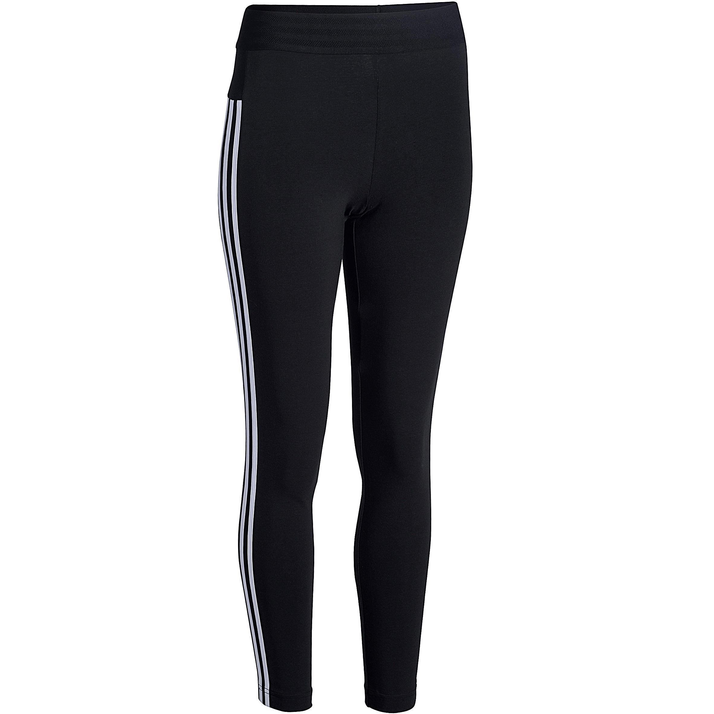 NU 15% KORTING: ADIDAS PERFORMANCE legging »ESSENTIALS 3 STRIPES TIGHT«