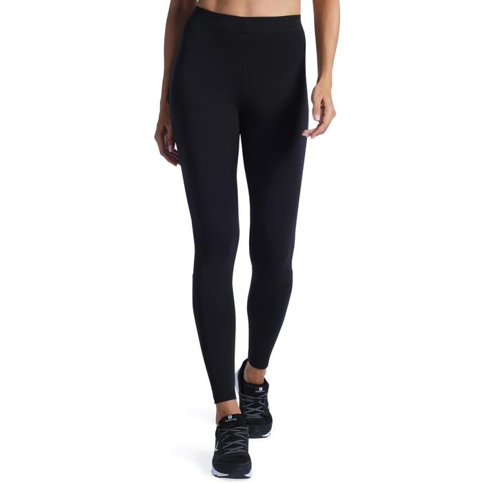 Dameslegging Adidas 500 voor gym en stretching slim fit zwart