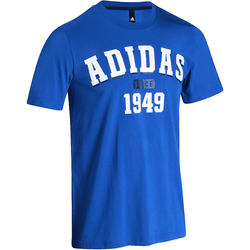 Fitness T-shirt voor heren blauw