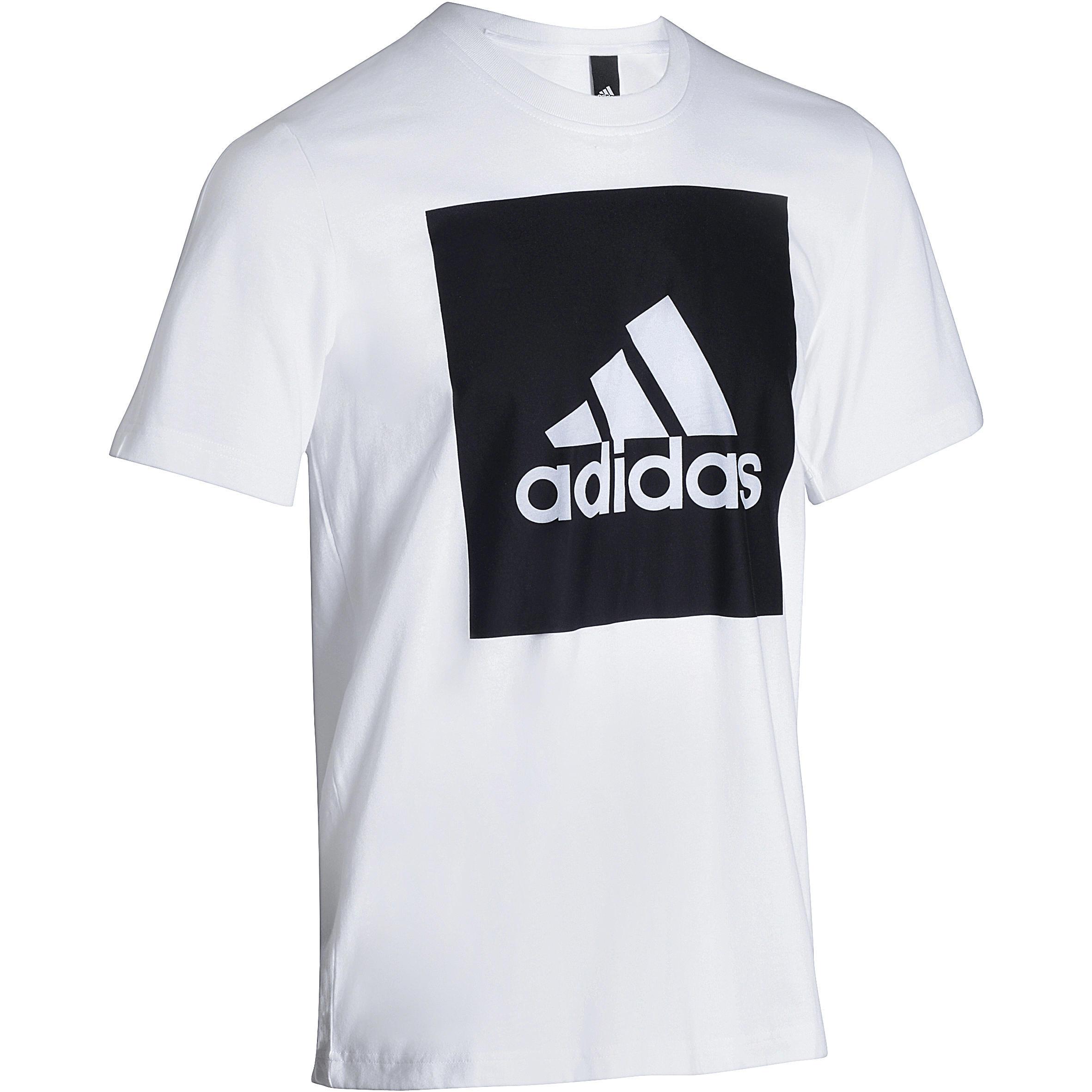 Fitness T-shirt heren wit