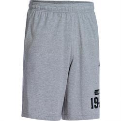 Fitness short voor heren grijs