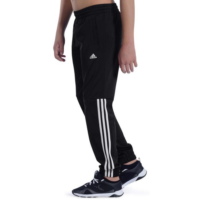 Pantalon Fitness garçon noir - 1091819
