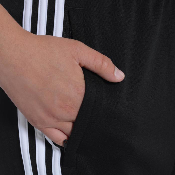 Pantalon Fitness garçon noir blanc - 1091832