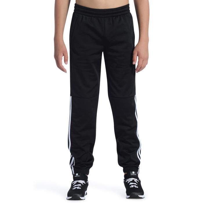 Pantalon Fitness garçon noir - 1091835