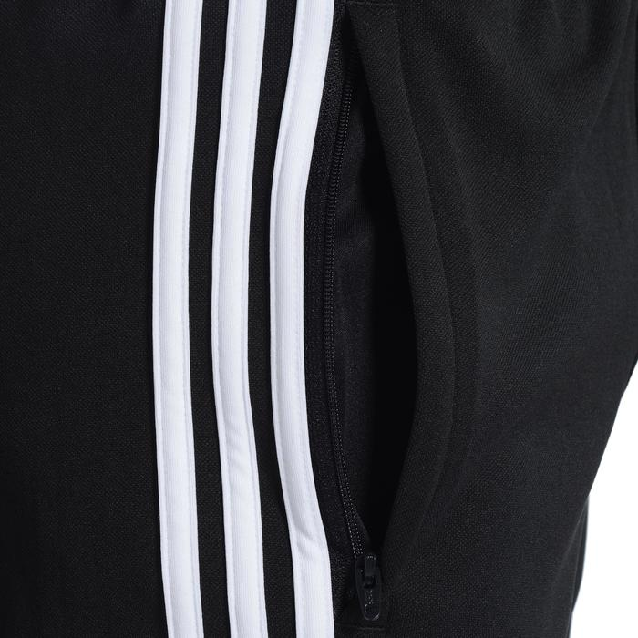 Pantalon Fitness garçon noir blanc - 1091845