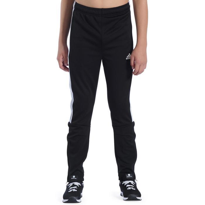 Pantalon Fitness garçon noir blanc