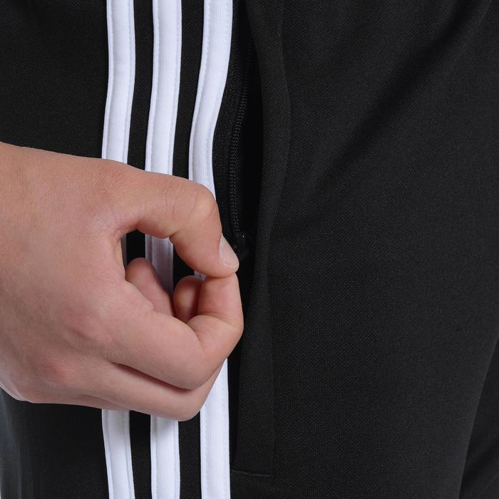 Pantalon Fitness garçon noir blanc - 1091871