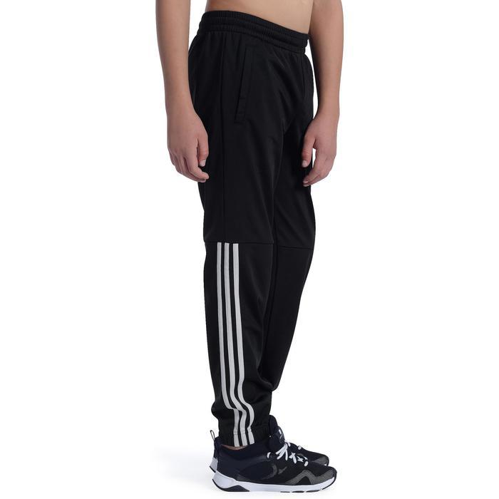 Pantalon Fitness garçon noir - 1091893