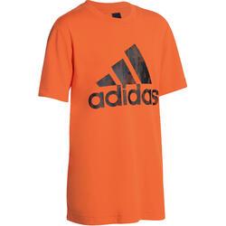 T-shirt Fitness jongens Adidas oranje