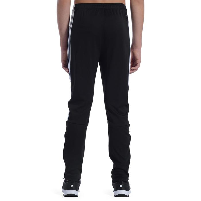 Fitnessbroek jongens zwart/wit