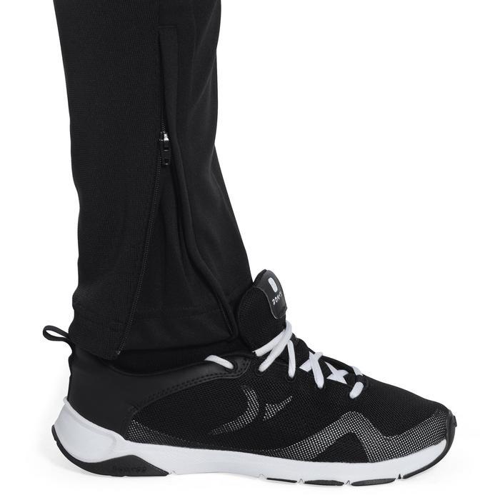 Pantalon Fitness garçon noir blanc - 1091916