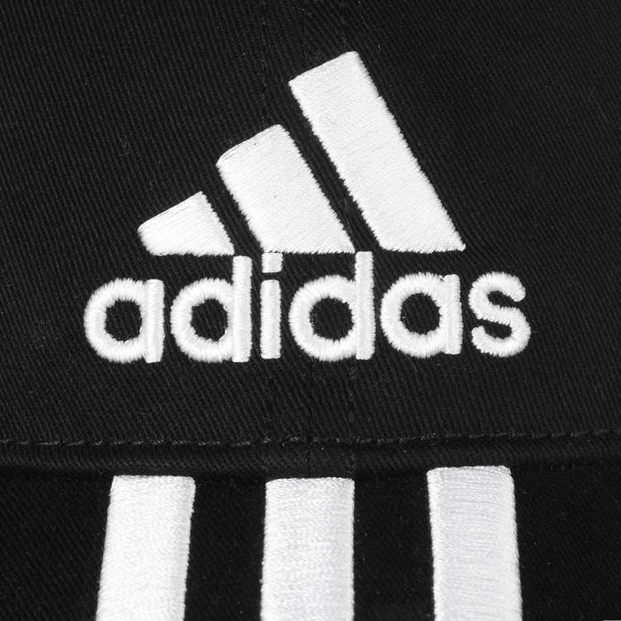 Casquette Fitness garçon noir blanc - 1091999