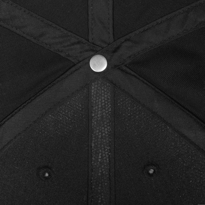 Casquette Fitness garçon noir blanc - 1092000