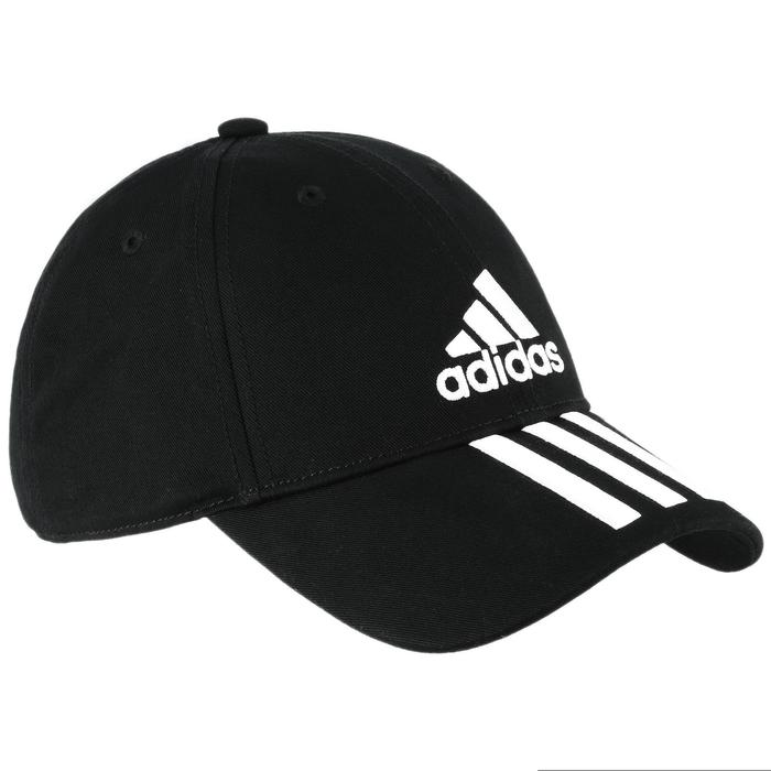 Casquette Adidas fitness noire blanche - 1092003