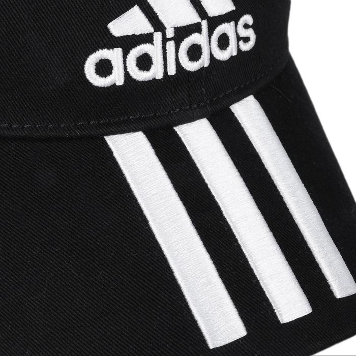 Fitnesspet Adidas zwart/wit