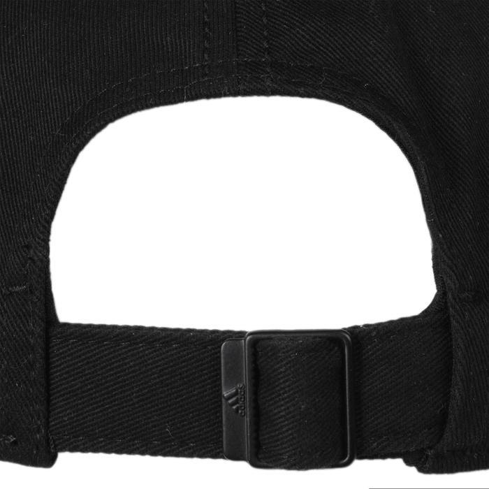 Casquette Fitness garçon noir blanc - 1092009