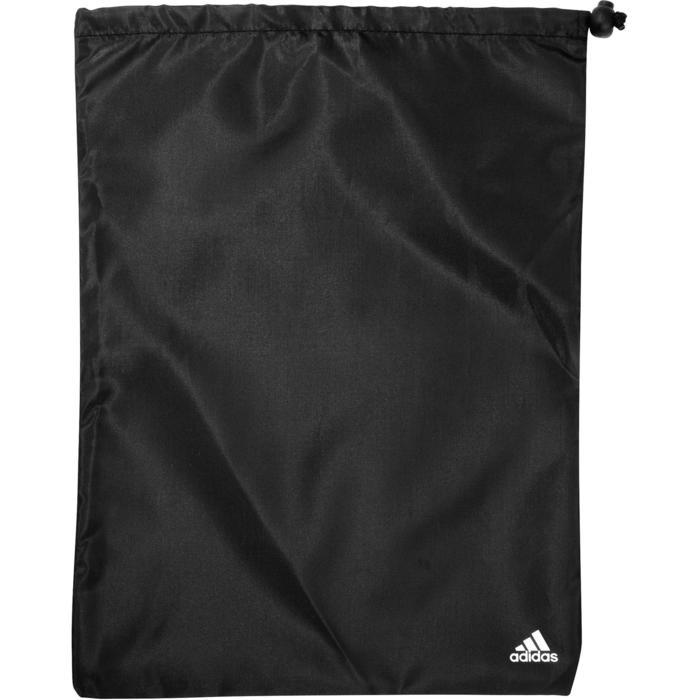 Fitnesstas Adidas zwart en wit